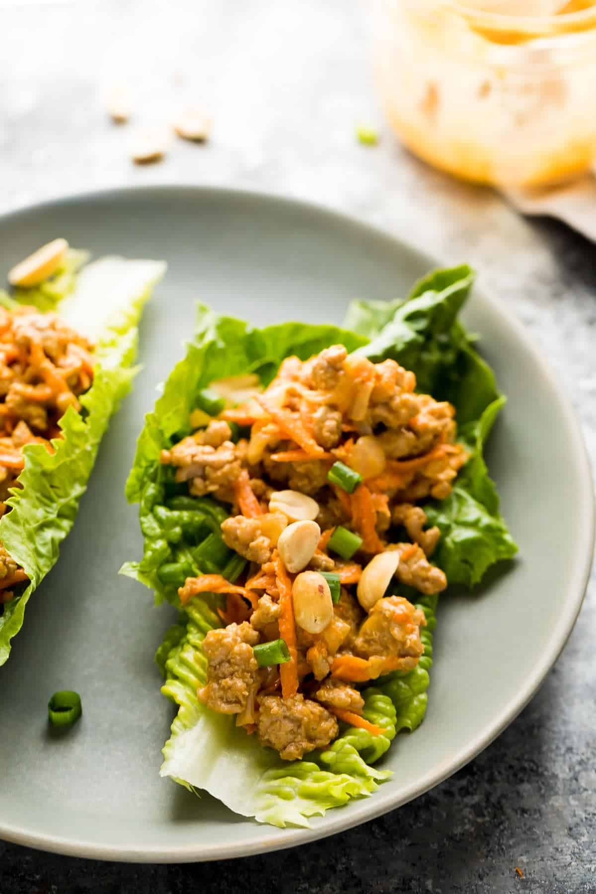 Low Carb Chicken Salad Recipe Lettuce Wraps