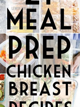 32 Chicken Breast Meal Prep Recipes