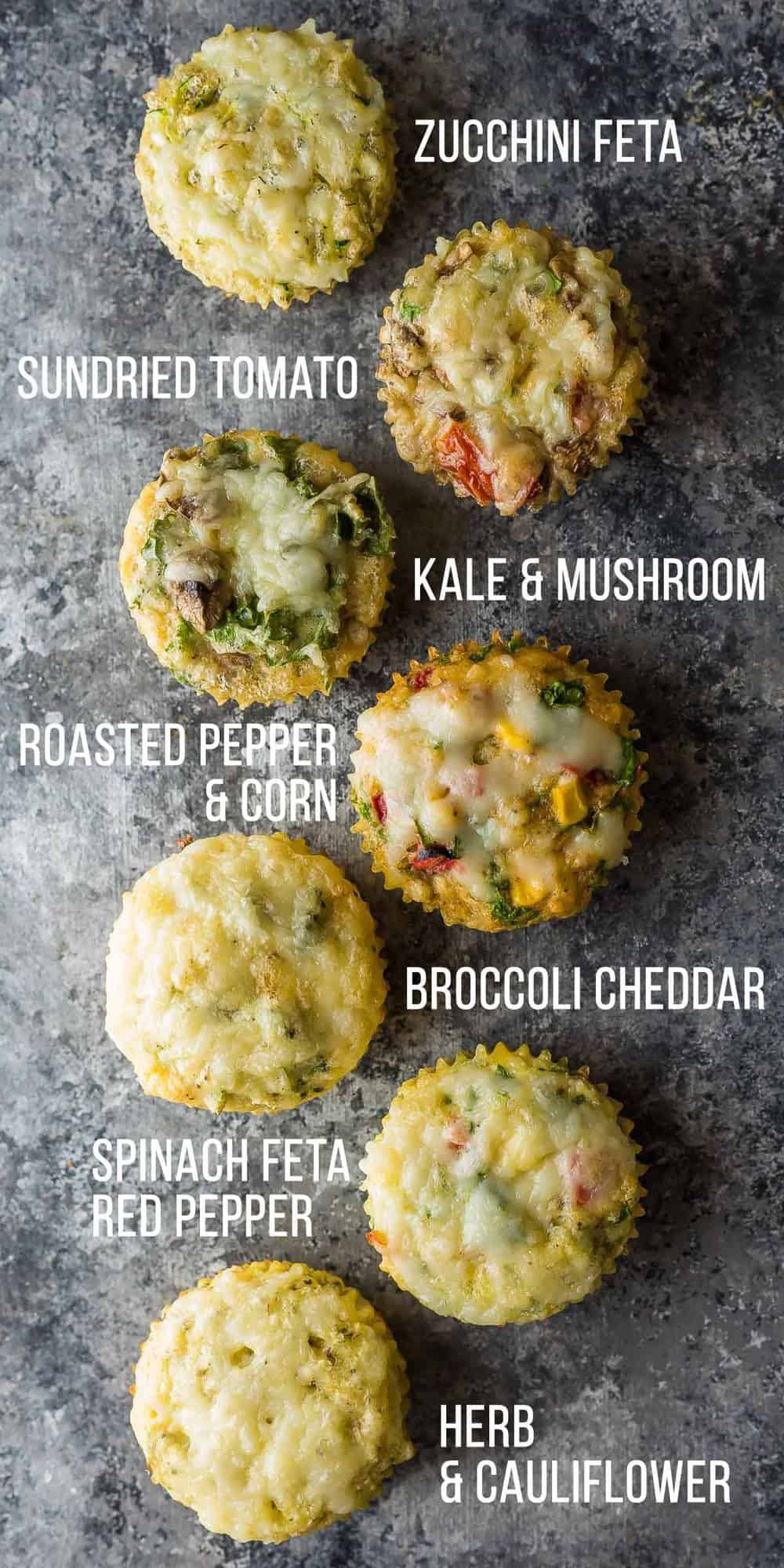 7 Healthy Breakfast Egg Muffins (Freezer) | Sweet Peas and