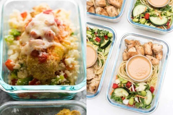 21 tasty meal prep chicken breast recipes that will have you excited to eat your lunch! These recipes prove that boneless skinless chicken breasts are anything but boring!