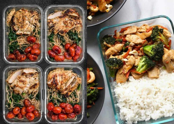 21 tasty chicken breast meal prep recipes that will have you excited to eat your lunch! These recipes prove that boneless skinless chicken breasts are anything but boring!