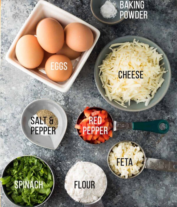 Healthy egg breakfast muffins make a delicious savory low carb breakfast or snack on the go!  7 different vegetable-filled flavors to prep ahead and stock your freezer.