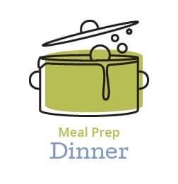 meal prep dinner