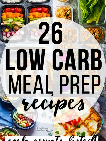 26+ Low Carb Recipes You Can Meal Prep