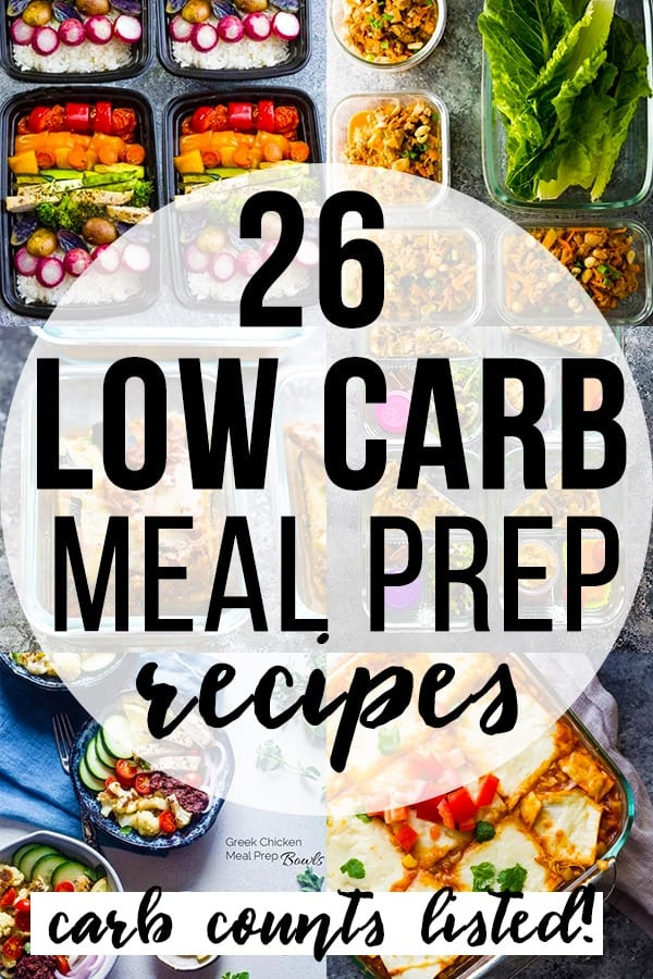 26 low carb recipes you can meal prep sweet peas and saffron 26 low carb meal prep recipes collage image forumfinder Images