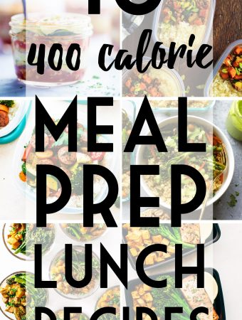 Meal Prep Lunch Recipes Under 400 Calories