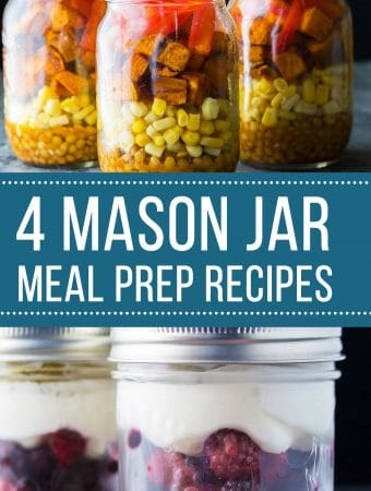 4 Awesome Ways to Use Mason Jars for Meal Prep (+Video!)
