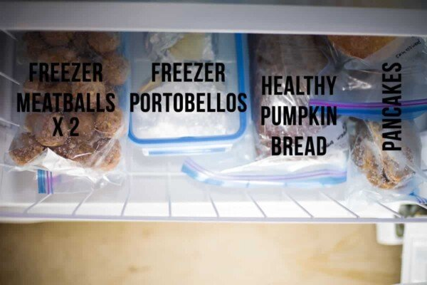Spilling all the details on the recipes I've stocked my freezer with before baby arrives! Freezer slow cooker recipes, chicken marinades, soups and more.
