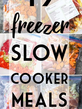 19 Healthy Crockpot Freezer Meals for Effortless Weeknights