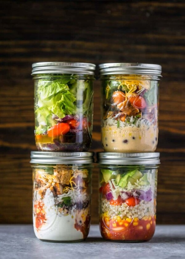 These 38 easy lunch meal prep ideas prove that eating healthy can be delicious and is anything but boring! A little prep work on the weekend will set you up to eat healthier, save money, and reduce your stress through the week.