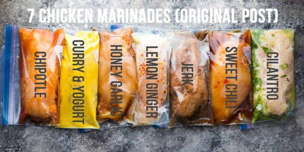 7 chicken marinades you can freeze