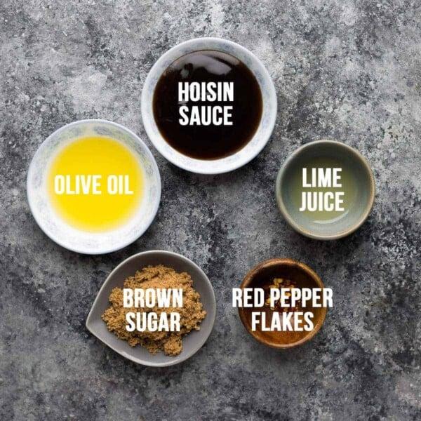Brown Sugar Hoisin Chicken Marinade ingredients