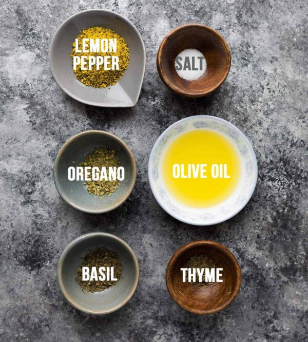 ingredients used in this lemon pepper chicken recipe