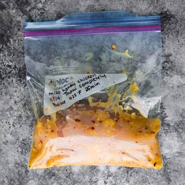miso honey chicken marinade recipe ingredients
