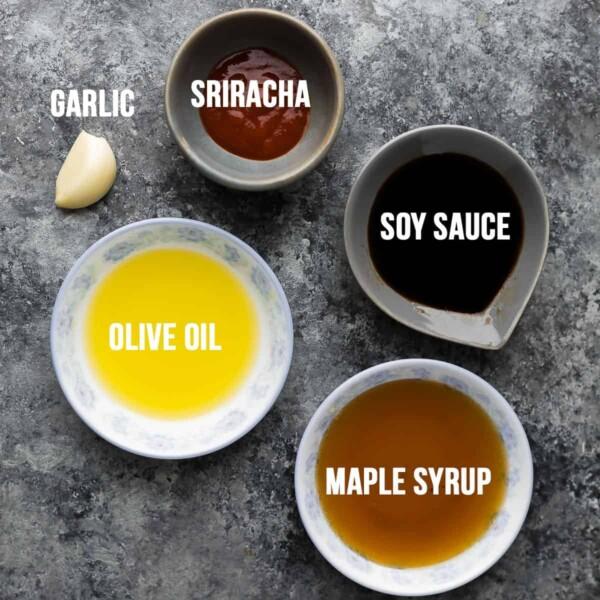 sriracha maple chicken marinade recipe ingredients