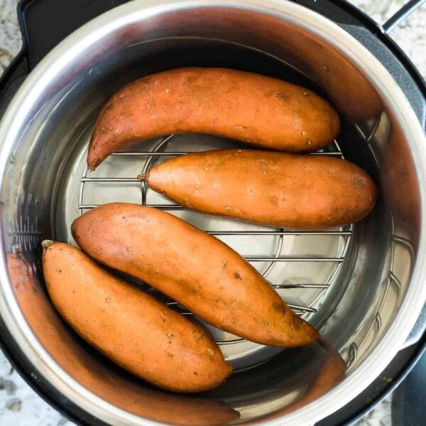 instant pot sweet potatoes before cooking
