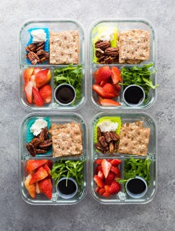 Spring Strawberry Bento Lunch Boxes