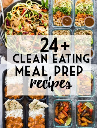 24+ Clean Eating Meal Prep Ideas