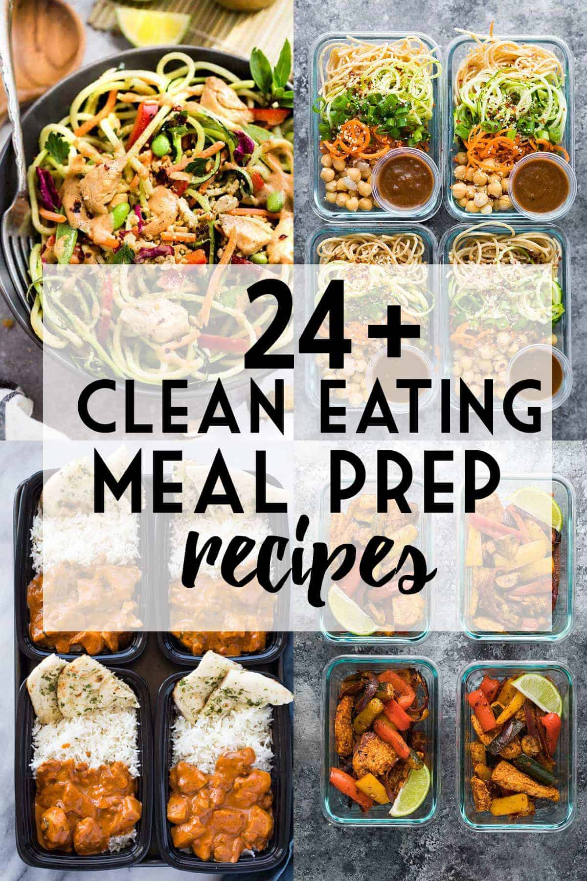 24+ clean eating meal prep ideas | sweet peas and saffron