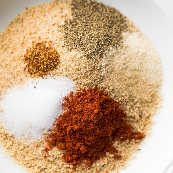 breading and seasonings for air fried chicken breast