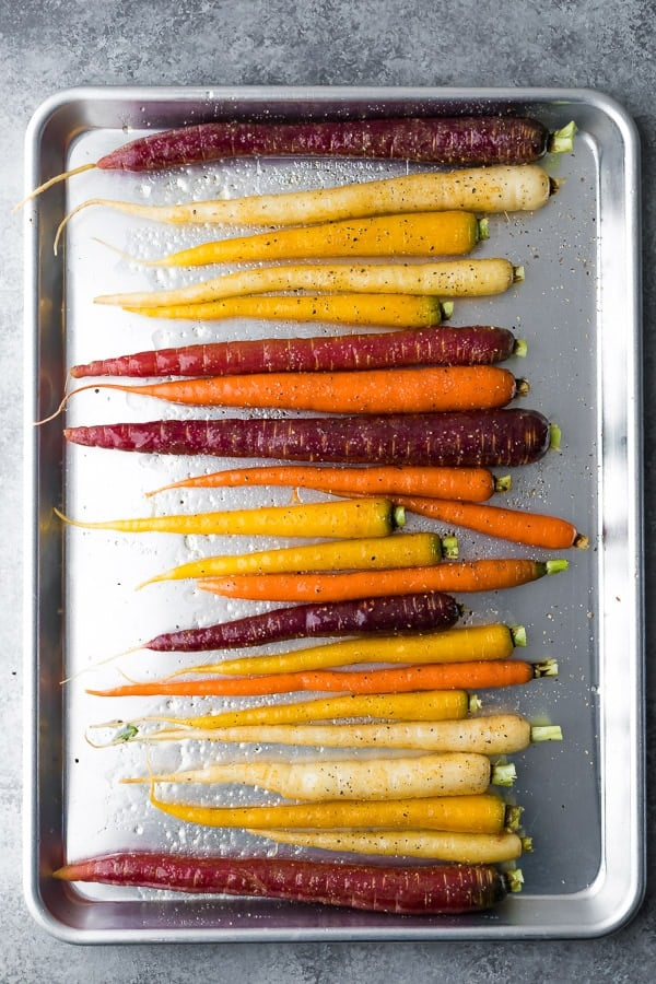Make Ahead Honey Glazed Roasted Carrots