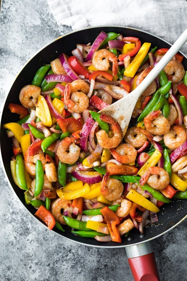 Easy Stir Fry in frying pan