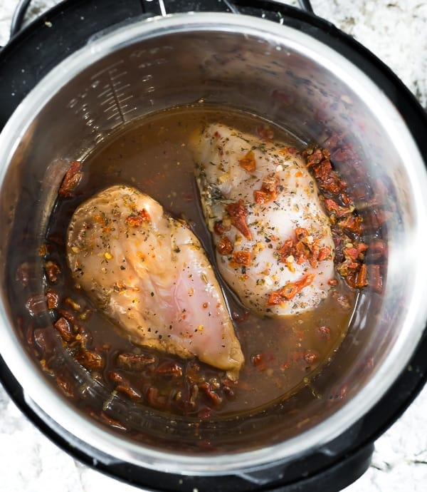 sun dried tomato chicken in the instant pot