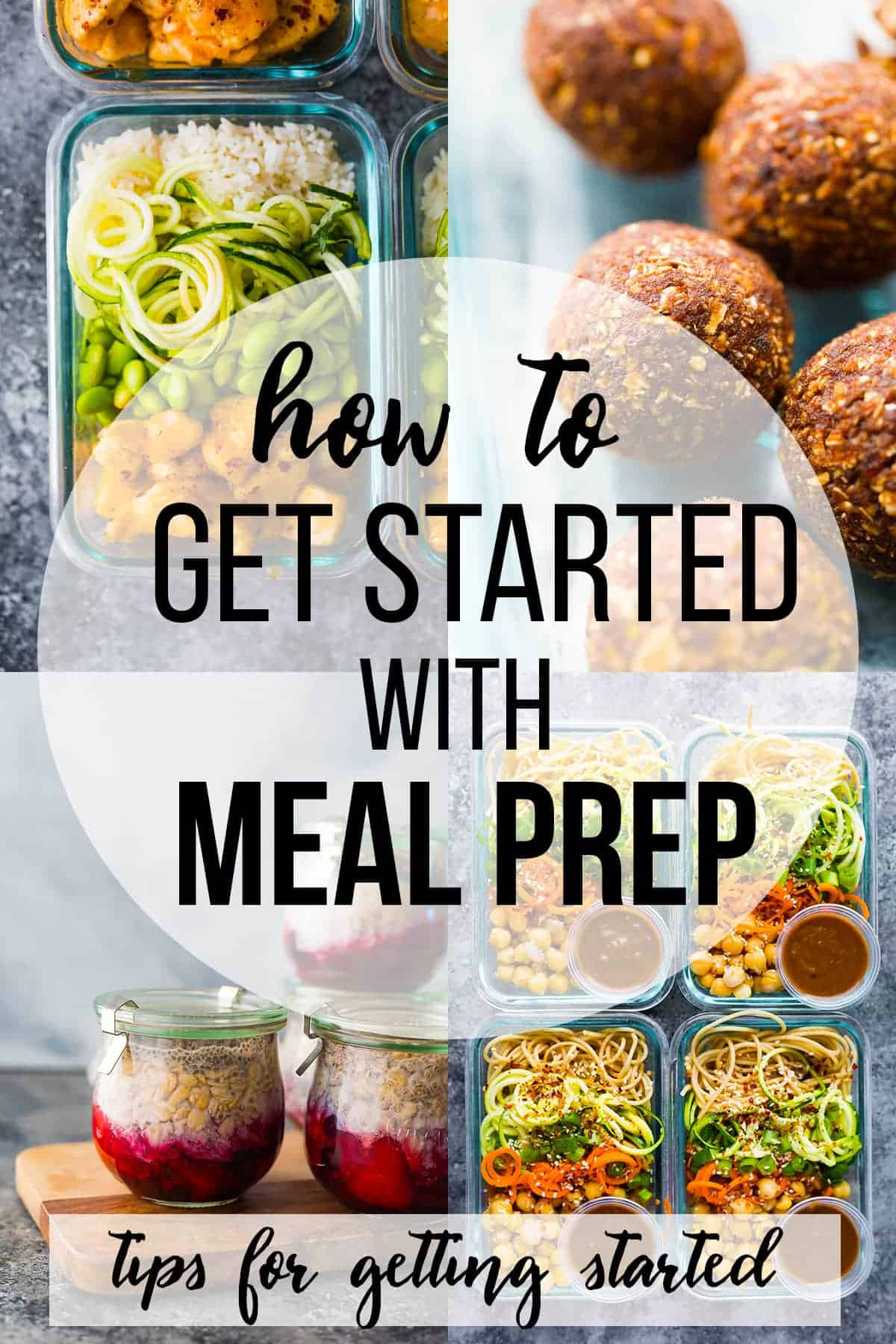 How to meal prep for the week- tons of tips to get started with meal prep, strategies to find a system that works for you, and lots of meal prep recipe inspiration! #sweetpeasandsaffron #mealprep #howto #howtomealprep