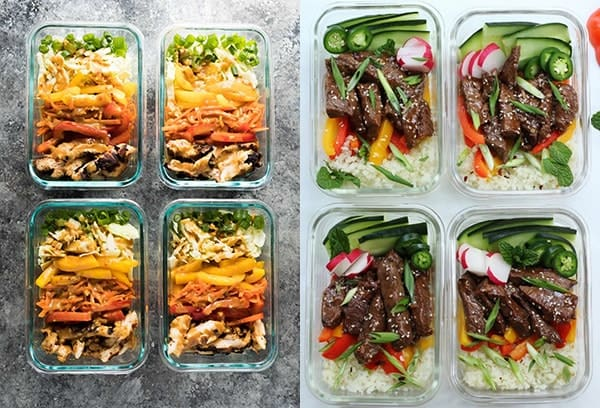 Paleo Meal Prep Recipes collage photo