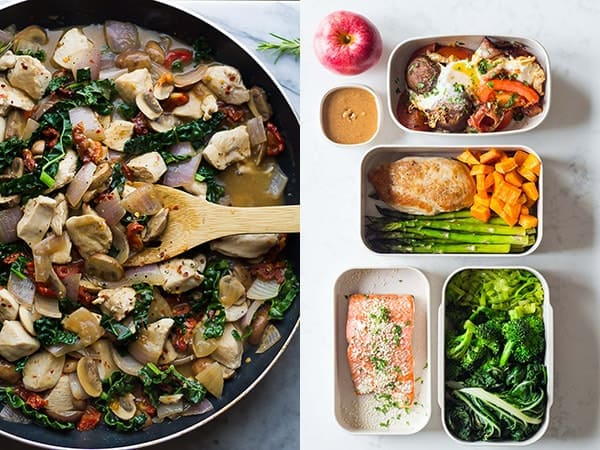 Paleo Meal Prep Recipe Ideas collage photo