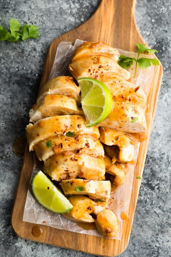 Instant Pot Chipotle Lime Chicken Breasts