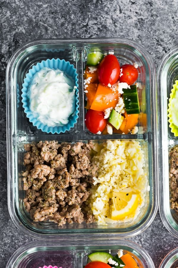 Low Carb Greek Turkey Meal Prep, which uses the greek seasoning blend