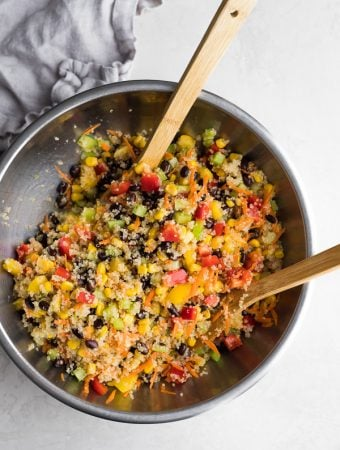 Refreshing Quinoa Black Bean Salad