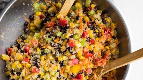 Refreshing Quinoa Black Bean Salad