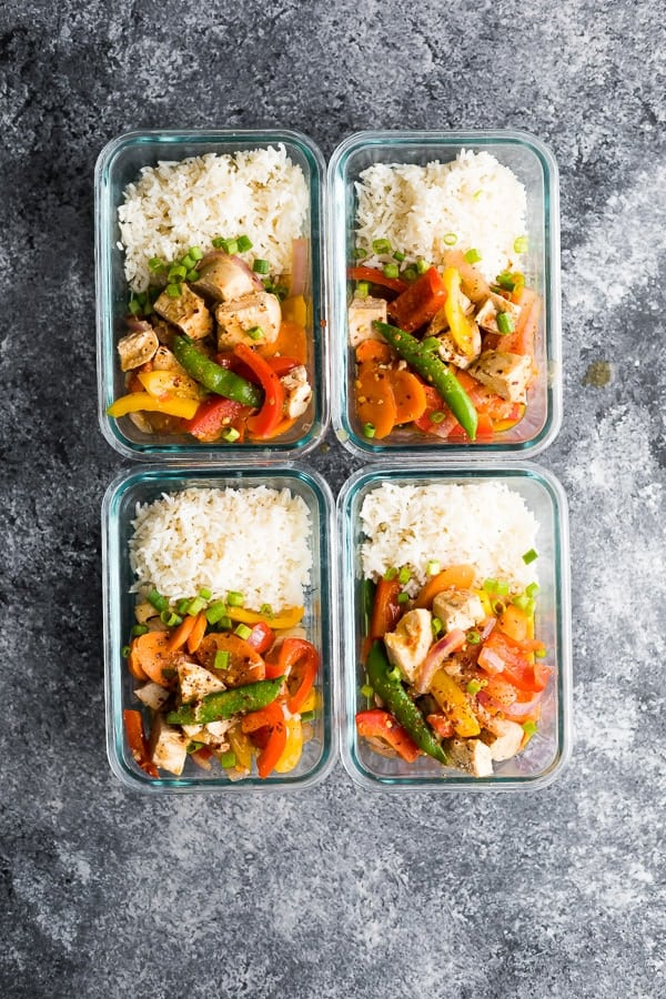Instant Pot Coconut Sweet Chili Chicken Stir Fry
