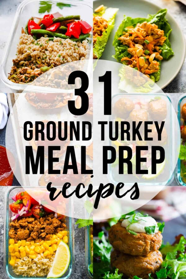 31 Healthy Ground Turkey Meal Prep Recipe Ideas Sweet Peas And