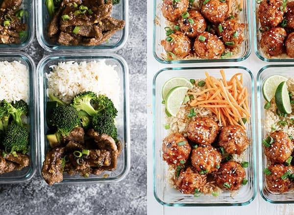 collage image of Hot Lunch Ideas