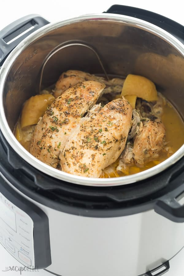 How to Meal Prep Chicken- whole chicken in instant pot