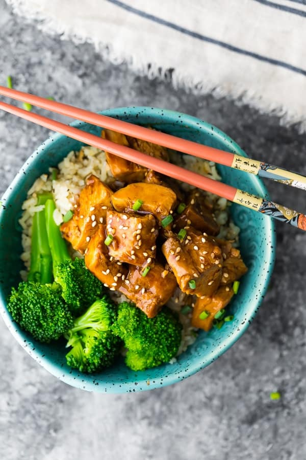 The Best Dang Crock Pot Teriyaki Chicken