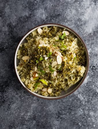 Pesto Green Rice