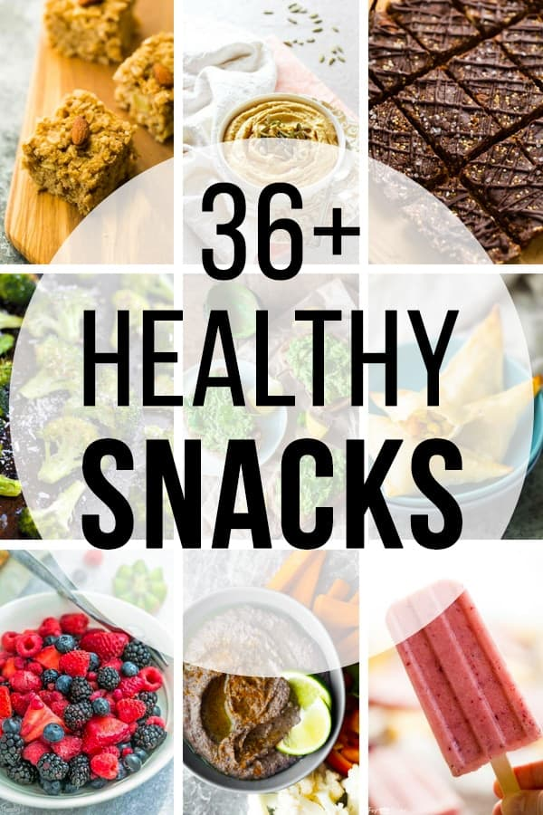 36 Healthy Snacks you can Meal Prep