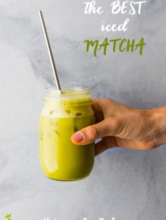 The Best Iced Matcha Latte