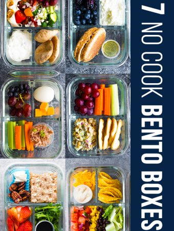 7 No Cook Lunch Box Recipes