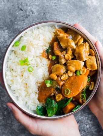 Freezer Asian Peanut Chicken