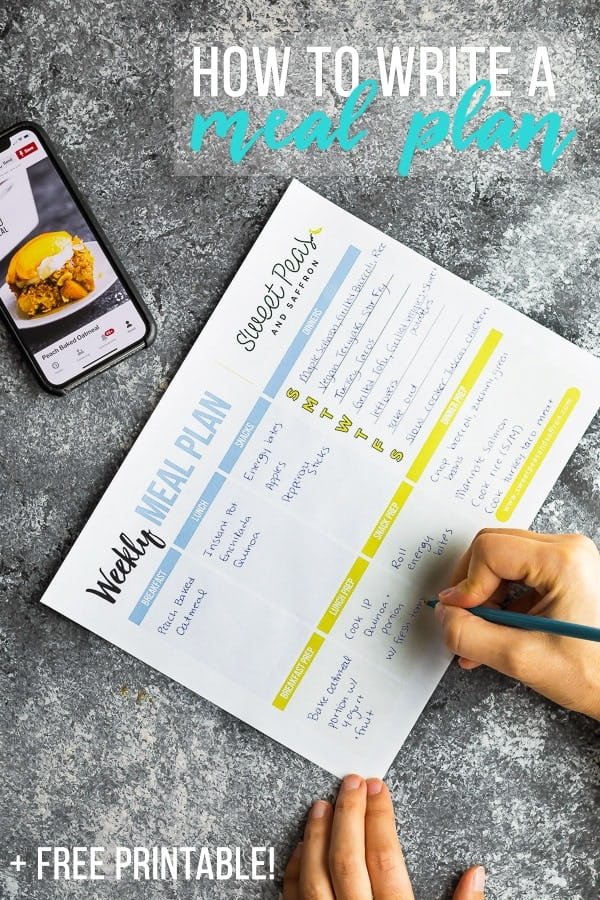 image showing How to Meal Plan (10 tips)