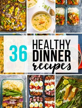 Healthy Dinner Ideas you can Meal Prep