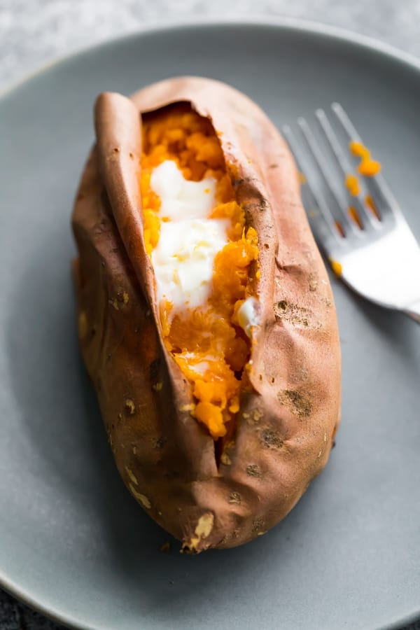 How To Bake Sweet Potatoes Sweet Peas And Saffron