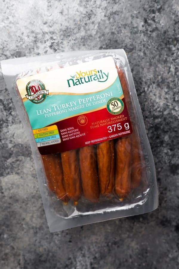 healthy pepperoni sticks