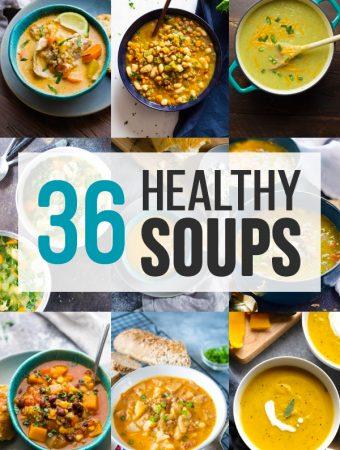 36+ Healthy Soup Recipes