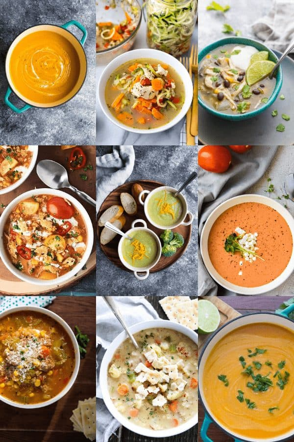 36 Healthy Soup Recipes Sweet Peas And Saffron